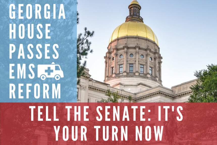 Georgia House passes EMS reform