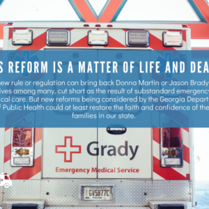Insider Advantage: EMS reform is a matter of life and death. Just ask these families.